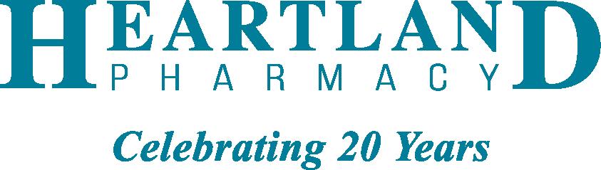 Heartland Pharmacy Celebrating 20 Years Logo